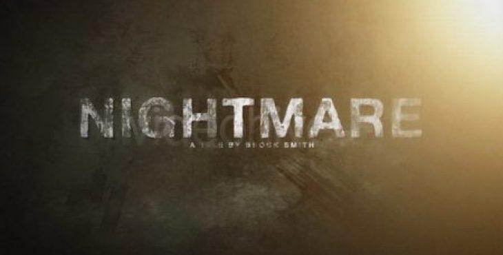 دانلود رایگان پروژه افترافکت ویژه ساخت تریلر فیلم ترسناک
