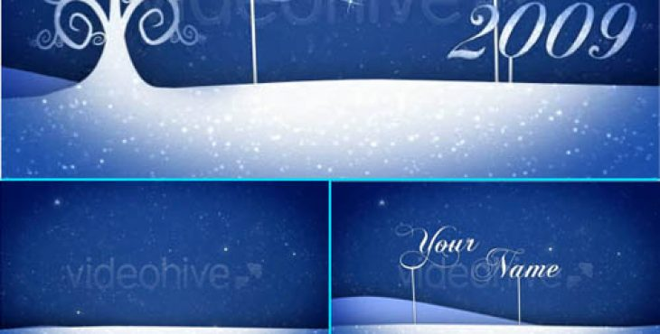 دانلود رایگان پروژه آماده افتر افکت با موضوع کریسمسMerry Christmas V3