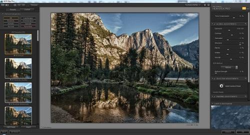 نرم افزاری برای ساخت تصاویر HDR