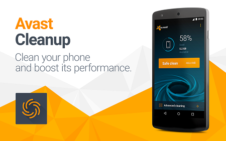 بهینه کردن سرعت گوشی با Avast Cleanup & Boost