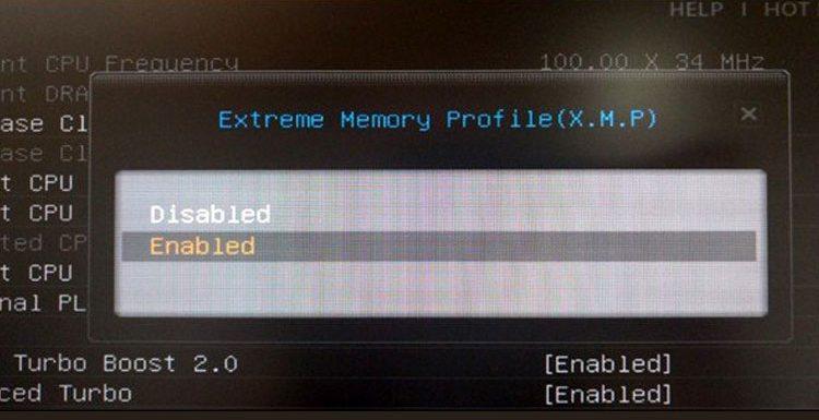 چگونه با فعال کردن Intel XMP از حداکثر سرعت رم رایانه بهره ببریم