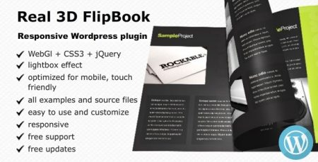 Real 3D FlipBook v2.18.8 WordPress