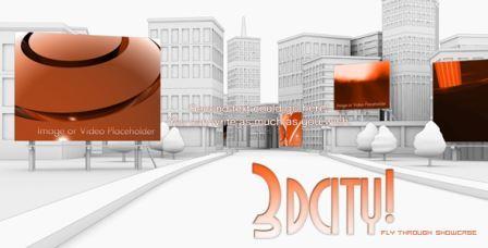 پروژه آماده افتر افکت با موضوع تبلیغات در شهر