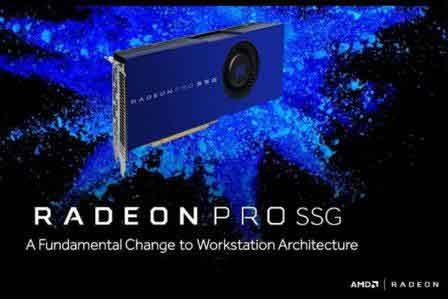 AMD از حافظهی مبتنی بر فلش SSG، برای افزایش عملکرد کارت گرافیک رونمایی کرد