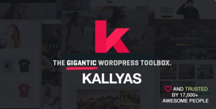 دانلود پوسته تجاری فوق العاده حرفه ای وردپرس با نام KALLYAS