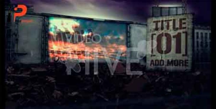 1 730x370 - پروژه آماده افترافکت: تریلر فیلم سینمایی ژانر وحشت