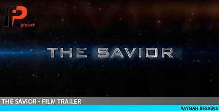 پروژه آماده افترافکت: تریلر فیلم سینمایی با عنوان نجات دهندهThe Savior