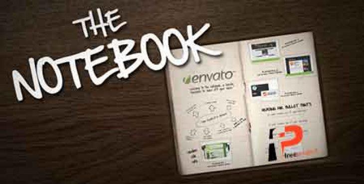 notebook preview 730x370 - پروژه آماده افترافکت: ساخت پروژه فوق العاده حرفه ای اینفوگرافیک در دفترچه یادداشت