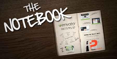 پروژه آماده افترافکت: ساخت پروژه فوق العاده حرفه ای اینفوگرافیک در دفترچه یادداشت