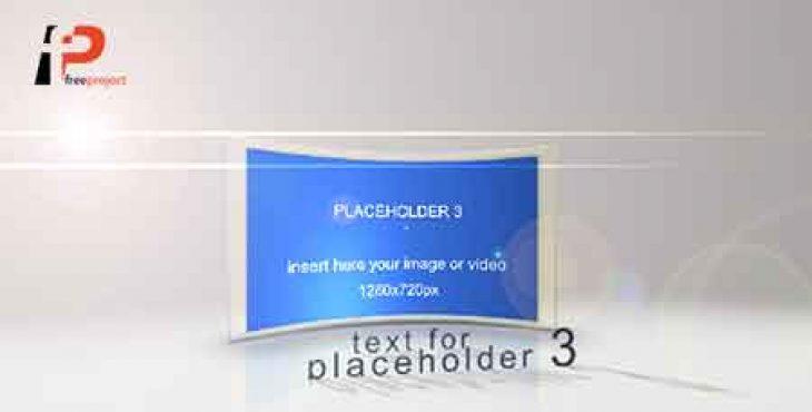 پروژه آماده افترافکت: نمایش تیزر تبلیغاتی فوق العاده زیبا بصورت متن و اسلاید سه بعدی