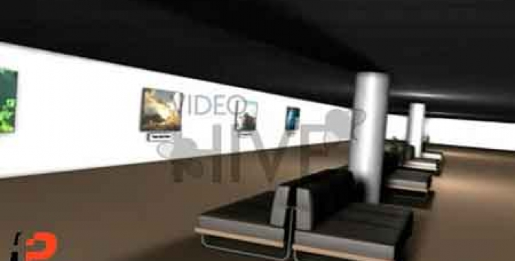 پروژه آماده افترافکت: نمایش تصاویر در نمایشگاه عکس بصورت سه بعدی