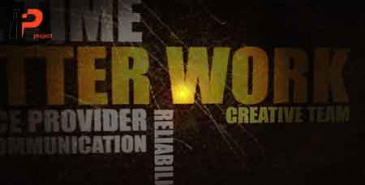 پروژه آماده افترافکت: ساخت تریلر فیلم با استفاده از تایپوگرافیک
