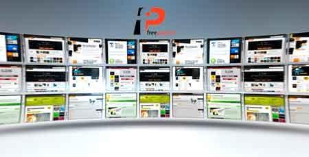 دانلود پروژه اماده افترافکت ساخت تیزر تبلیغاتی با موضوع نمایش نمونه کارهای طراحی وبسایت