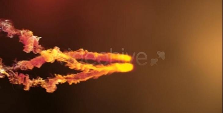 1 730x370 - پروژه آماده افترافکت ویژه ساخت آرم استیشن با افکت آتش و دود