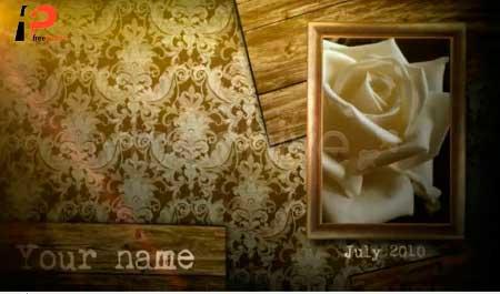 دانلود رایگان پروژه آماده افترافکت ویژه نمایش زیبا و حرفه ای عکس بصورت کلاسیک