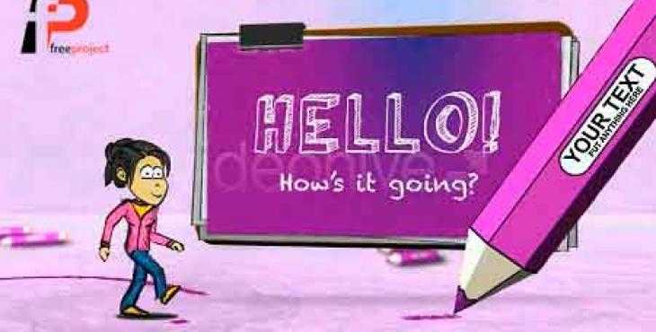 دانلود پروژه آماده افترافکت ویژه ساخت تیزر تبلیغاتی فوق العاده زیبا و حرفه ای به صورت انیمیشن