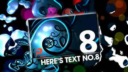 thumb 1 - دانلود پروژه آماده افترافکت: نمایش فوق العاده زیبا و حرفه ای تصاویر در قالب حباب های رنگی