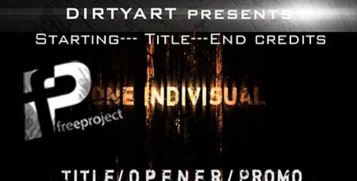 دانلود پروژه آماده افترافکت- ساخت تریلر آغاز و پایان فیلم