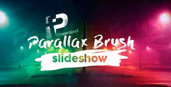 پروژه آماده افترافت- اسلایدر نمایش تصاویر با افکت قلم موی نقاشی