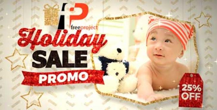 holiday sale promo inline fluxvfx3 1 730x370 - دانلود رایگان پروژه آماده افترافکت تیزر نمایش تخفیف ویژه محصولات و کسب و کار