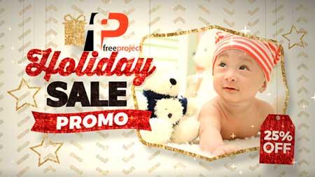 holiday sale promo inline fluxvfx3 1 - دانلود رایگان پروژه آماده افترافکت تیزر نمایش تخفیف ویژه محصولات و کسب و کار