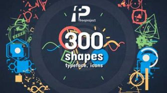 VIDEOHIVE SHAPE ELEMENTS – MOTION GRAPHICS