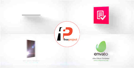 پروژه آماده افترافکت تیزر نمایش لوگو Minimalist Logo