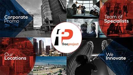 پروژه آماده افترافکت ساخت تیزر تبلیغاتی معرفی کسب و کار و تجارت