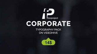 FreeProject corporate titles 335x188 - دانلود رایگان پروژه آماده افترافکت نمایش عنوان شرکت در تبلیغات