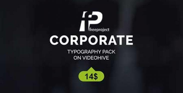 FreeProject corporate titles 730x370 - پروژه آماده افترافکت نمایش عنوان شرکت در تبلیغات