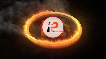 پروژه آماده افترافکت – تیزر نمایش بی نظیر و حرفه ای لوگو با افکت آتش