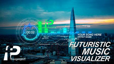 دانلود پروژه افترافکت - ساخت حرفه ای آینده ای از موزیک ویژوال