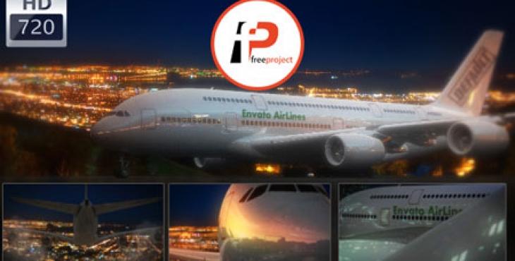 airplane logo take brand higher 730x370 - دانلود رایگان پروژه آماده افترافکت نمایش لوگو و نشان تجاری بر روی بدنه هواپیما