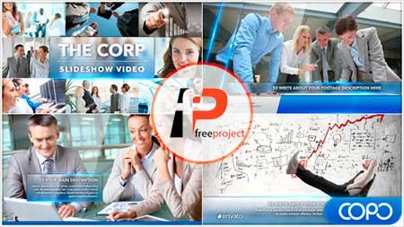 دانلود پروژه آماده افترافکت اسلایدشو معرفی تجارت و کسب و کار