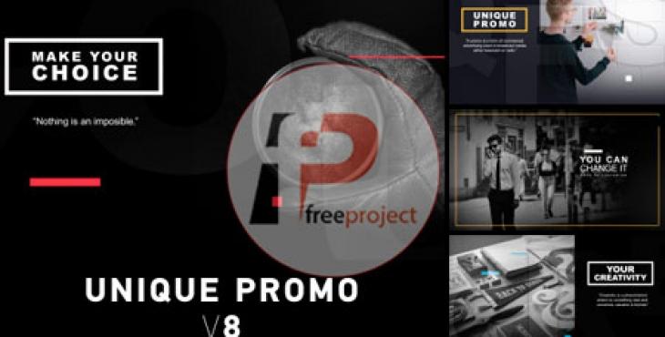 پروژه آماده افترافکت- مجموعه عناوین متحرک تبلیغاتی مدرن نسخه 8