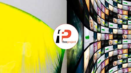 پروژه آماده افترافکت- تیزرتبلیغاتی فوق حرفه ای مجموعه های فیلم و ویدئو در قالب تونل