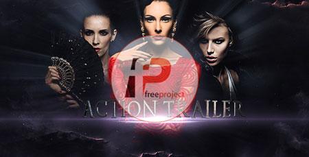FreeProject action trailer FP240 - پروژه آماده افترافکت- تریلر فوق حرفه ای با موضوع نمایش پرفروش ترین فیلم ها