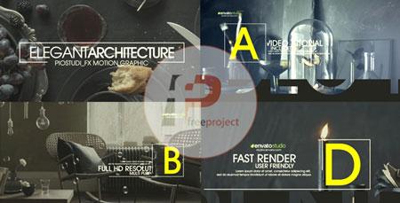 تیزر تبلیغاتی معماری داخلی با افترافکت