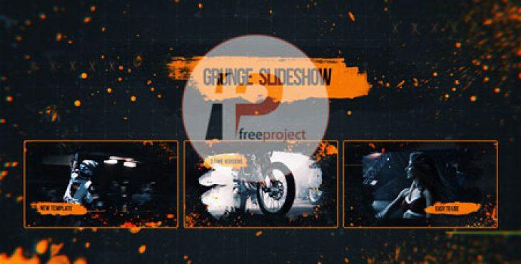 FreeProject-grunge-slideshow-AE247