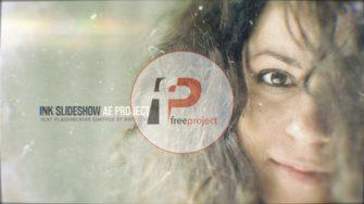 FreeProject ink slideshow AE244 335x188 - پروژه آماده افترافکت- اسلایدشو حرفه ای عکس با افکت حل شدن جوهر در آب