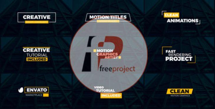 FreeProject minimal titles 02 AE257 730x370 - پروژه آماده افترافکت- مجموعه عنوان های اختصاری متحرک 2