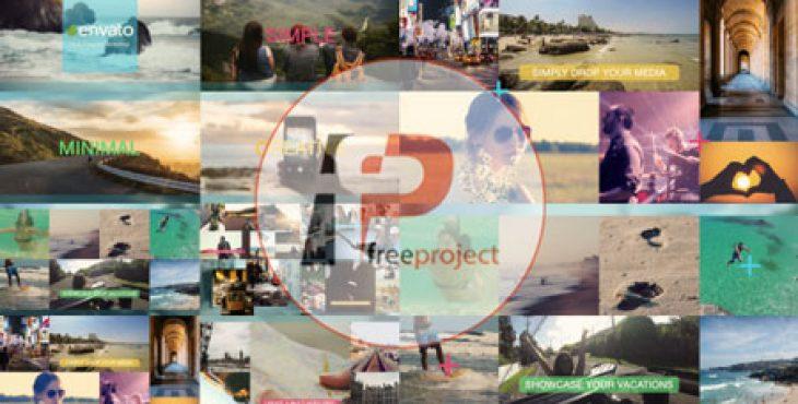 پروژه آماده افترافکت- ساخت اسلایدشو بی نظیر و حرفه ای چند موضوعی