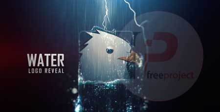 VideoHive Water Logo Reveal