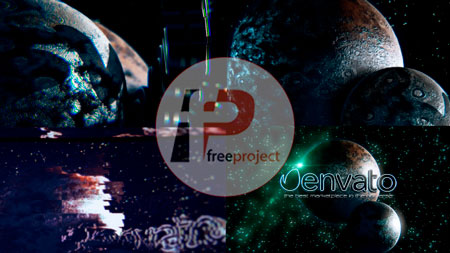 FreeProjectiSpace Glitch Logo-AE132