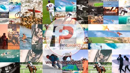 پروژه آماده افترافکت-ساخت اسلایدشو مدرن چند موضوعی از تصاویر