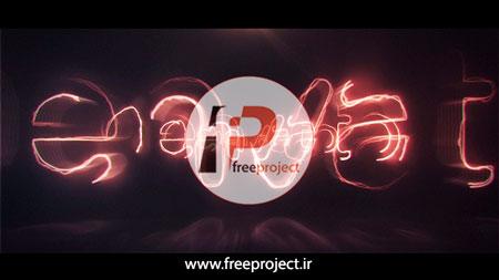 ساخت تیزر حرفه ای تبلیغاتی لوگو در قالب انرژی و نور