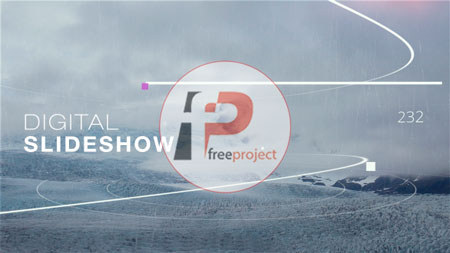 پروژه آماده افترافکت- ساخت اسلایدشو حرفه ای عکس و فیلم دیجیتال