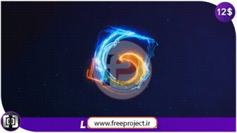پروژه آماده افترافکت ویژه ساخت تیزر نمایش لوگو