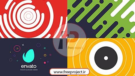 پروژه رایگان افترافکت ویژه ساخت لوگو موشن