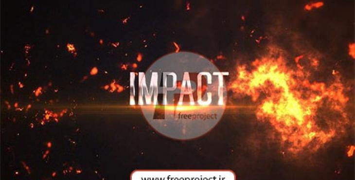 ساخت تریلر فیلم با افکت های انفجار و آتش
